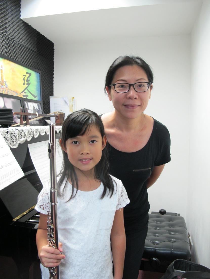 長笛優異生學習分享 – 何曉穎