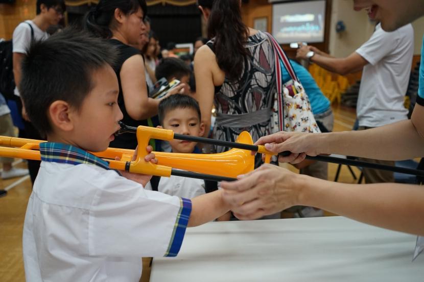 到黃埔宣道小學樂器示範